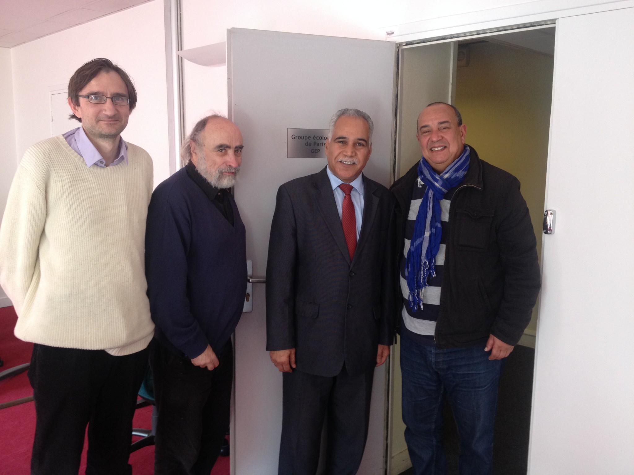Rencontre d'EELV avec le mouvement Bahraëni «Al Waad»