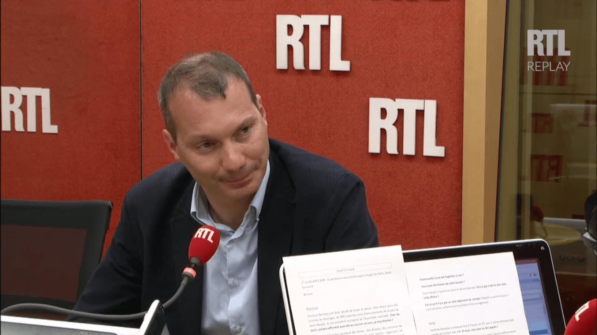 David Cormand, invité de RTL