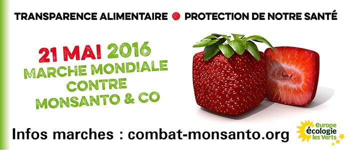 21 mai 2016 : Marche mondiale contre Monsanto & Co