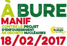 Manifestation à Bure, le 18/02/2017