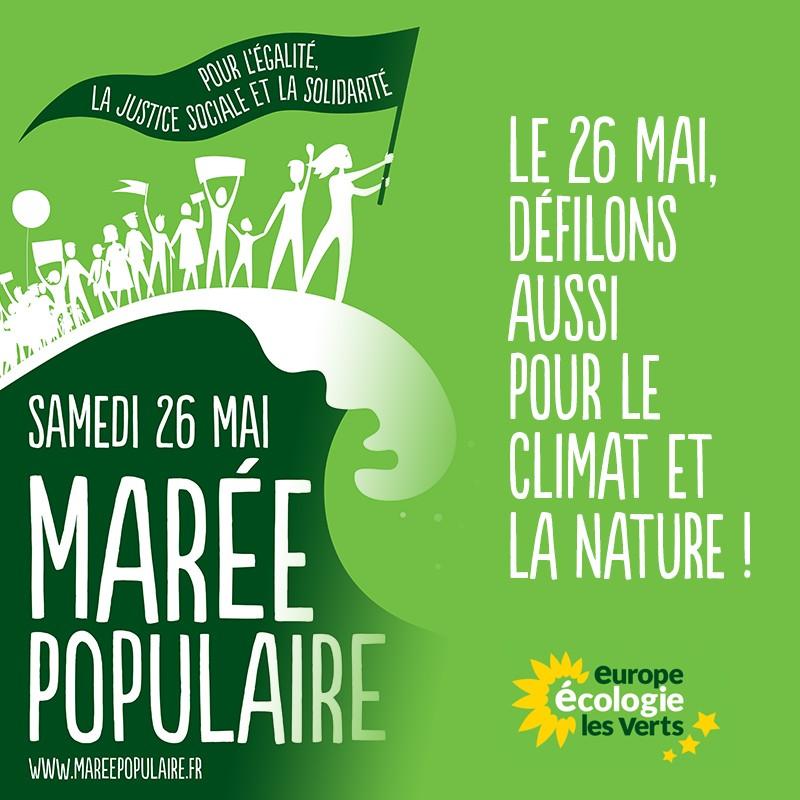 Mobilisé-es le 26 mai pour l'égalité, la justice sociale et la solidarité !