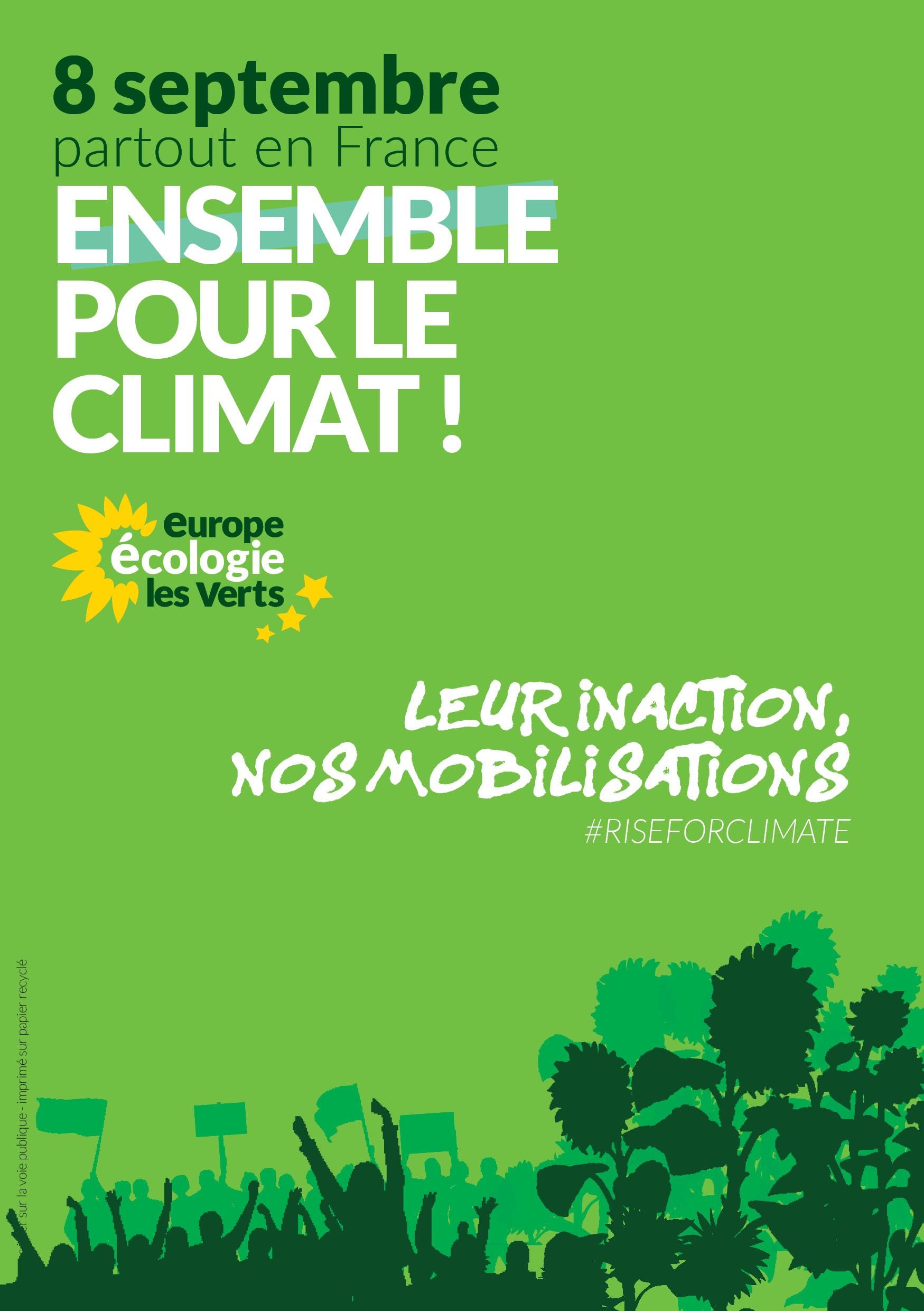 Marche pour le climat : 8 septembre 18