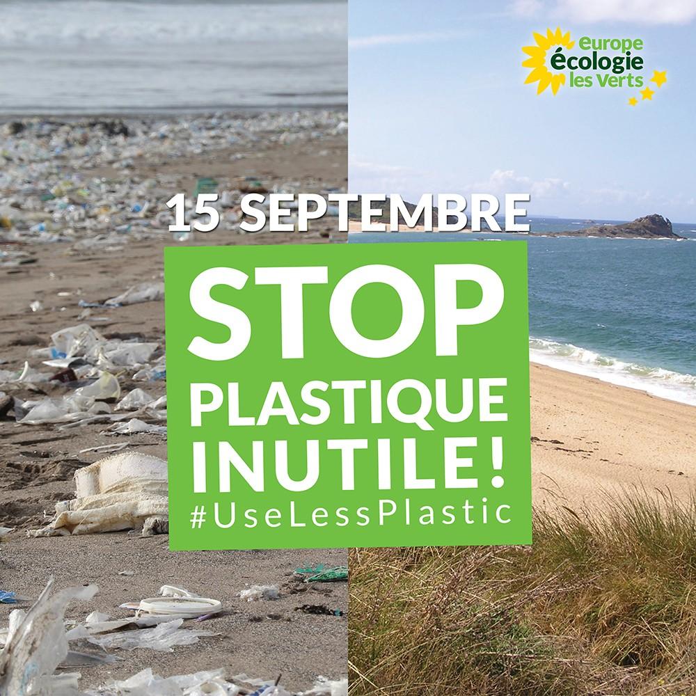 World CleanUp Day : agissons contre le plastique inutile !