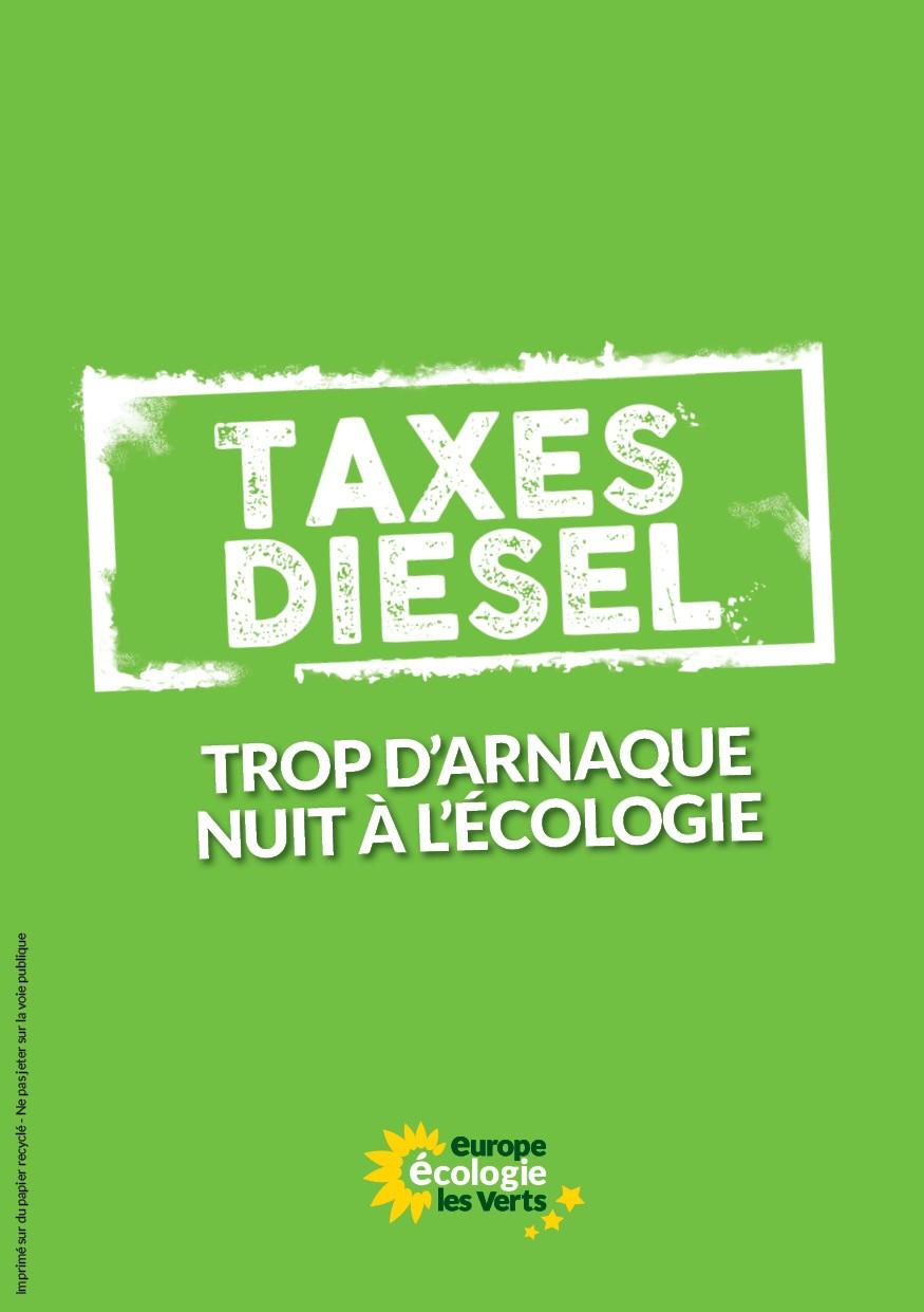 Taxes diesel / Carbone