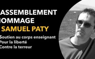 EELV appelle à se joindre aux rassemblements en hommage à Samuel Paty