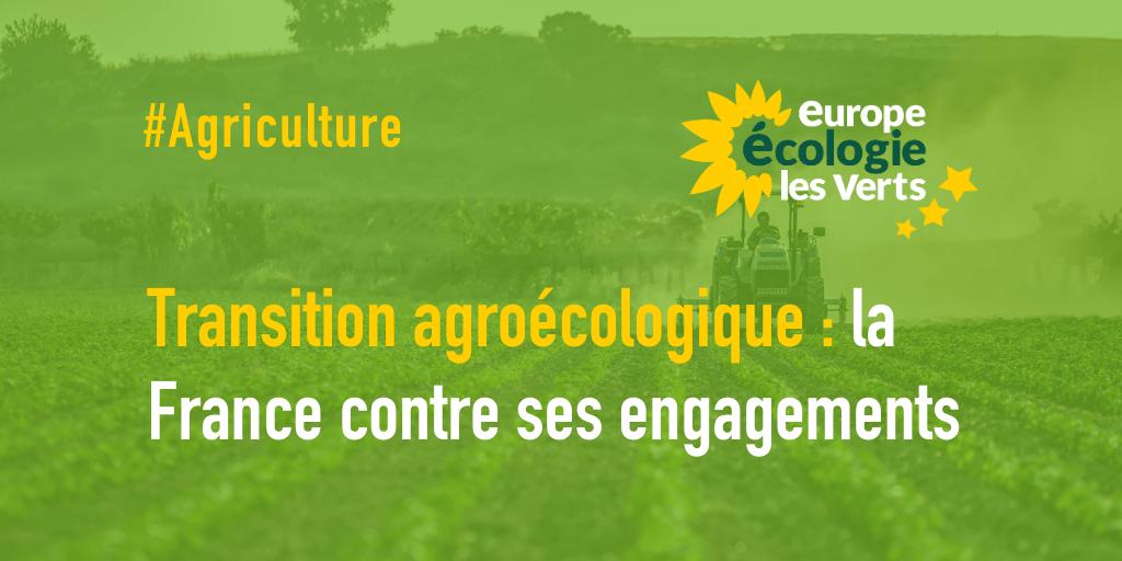 La France va à l'encontre de ses engagements pour la transition agroécologique