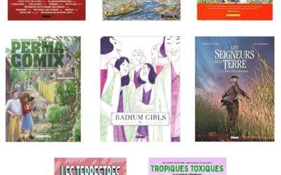 25ème Prix TOURNESOL de la BD écolo francophone