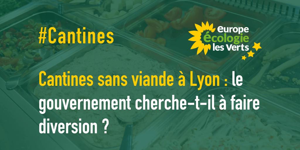 Cantines sans viande à Lyon : le gouvernement cherche-t-il à faire diversion ?