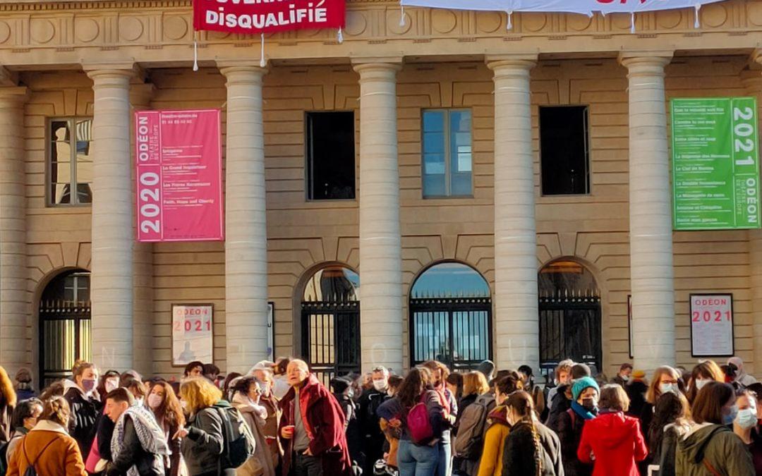 EELV soutient l'occupation pacifique du Théâtre National de l'Odéon et des lieux de spectacles