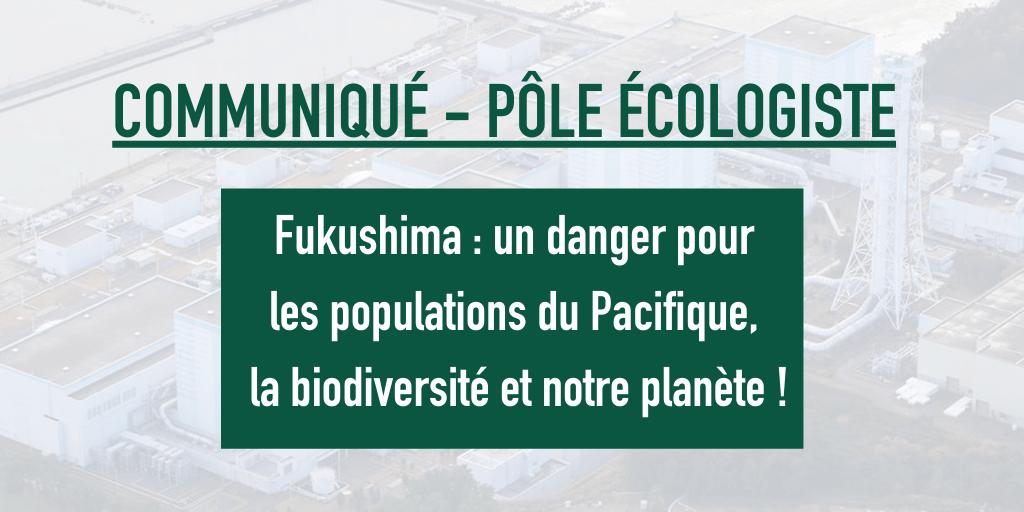 Fukushima, un danger pour les populations du Pacifique, la biodiversité et notre planète !