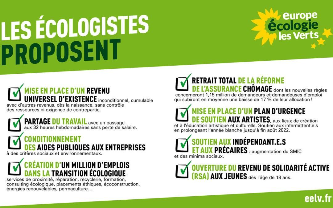 Nos emplois / Le climat : même combat !