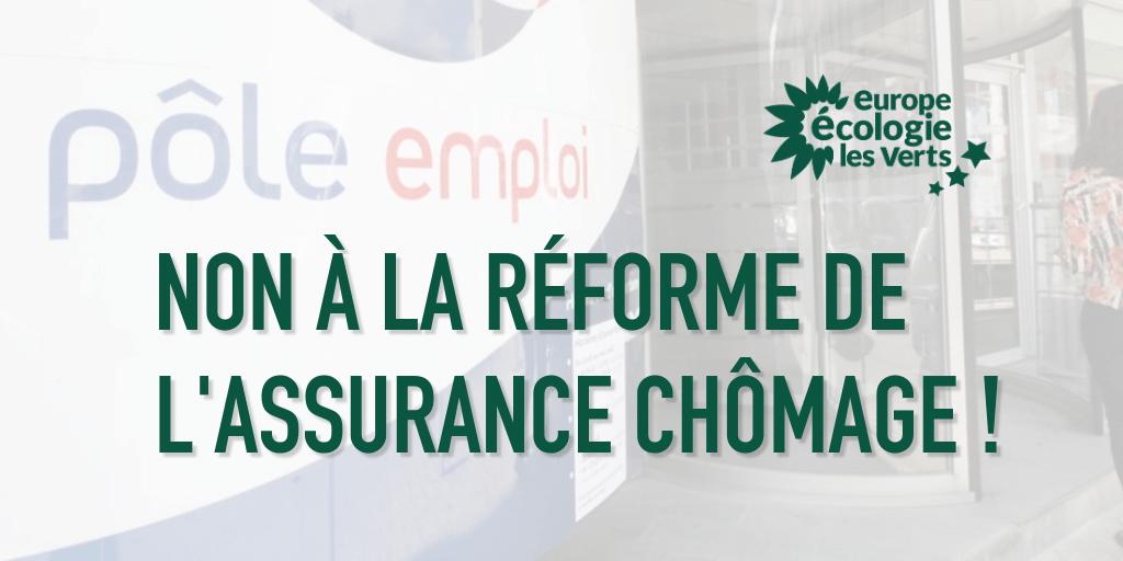 Non à la réforme de l'assurance chômage ! EELV appelle à la mobilisation