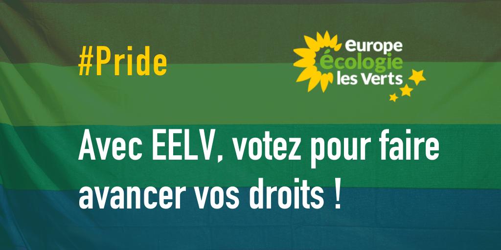 Avec EELV, votez pour faire avancer vos droits !