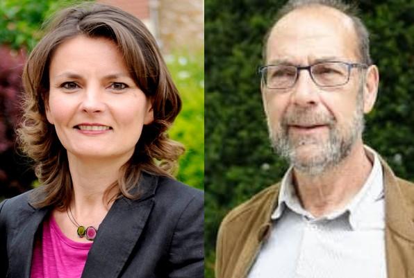 Eva Sas et Alain Coulombel, porte-paroles EELV