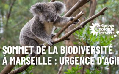 Sommet de la biodiversité à Marseille : l'urgence d'agir