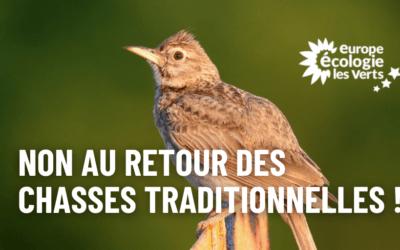 Chasses traditionnelles : stop au clientélisme !