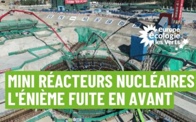 Mini réacteurs nucléaires : l'énième fuite en avant