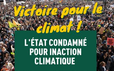 Affaire du siècle : l'État condamné pour inaction climatique